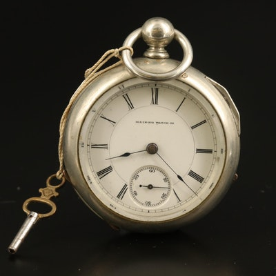 1887 Illinois Watch Co. Pocket Watch