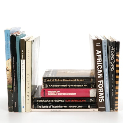 International Art and Art Styles Book Collection
