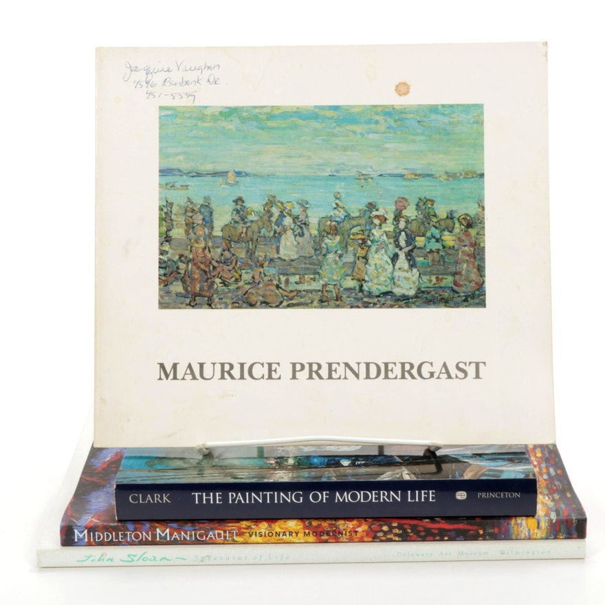 Books on Impressionist and Post-Impressionist Painters