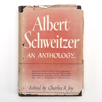 """Albert Schweitzer: An Anthology"" Numbered Presentation Edition"