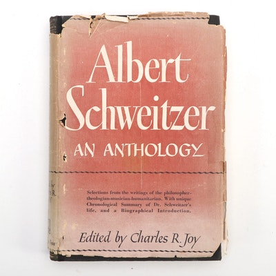 """Albert Schweitzer: An Anthology"" Numbered Presentation Edition"