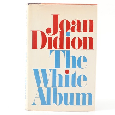 "First Edition ""The White Album"" by Joan Didion, 1979"