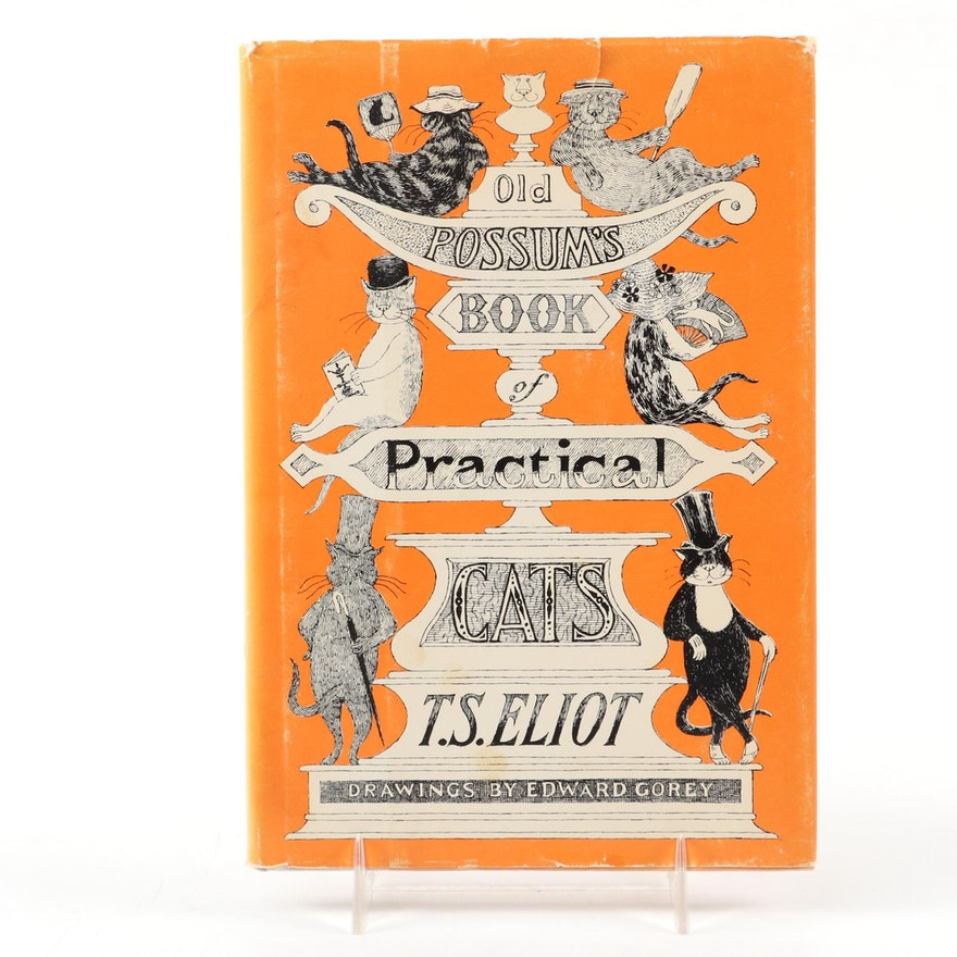 "First Illustrated Edition ""Old Possum's Book of Practical Cats"" by T. S. Eliot"
