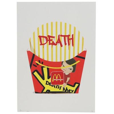 Death NYC Pop Art Offset Print, 2020