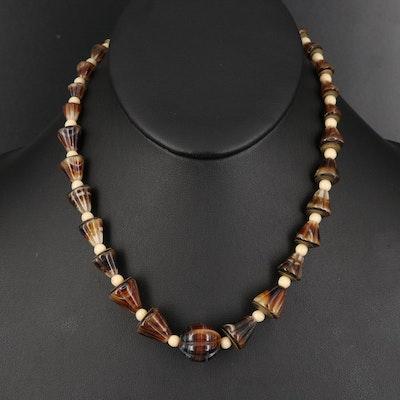 Vintage Czech Glass Necklace
