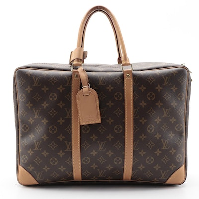 Louis Vuitton Sirius 45 Soft-Side Suitcase in Monogram Canvas