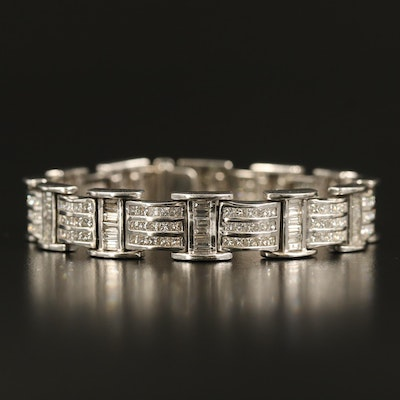 18K 8.48 CTW Diamond Bracelet