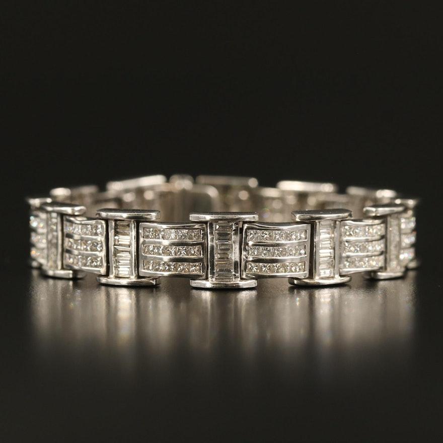 18K 8.48 CTW Diamond Bracelet