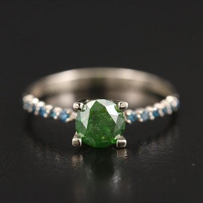 14K 1.07 CTW Diamond Ring