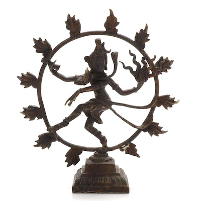Shiva Nataraja Metal Sculpture