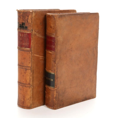 Law of Personal Property and Partnership Books, Antique