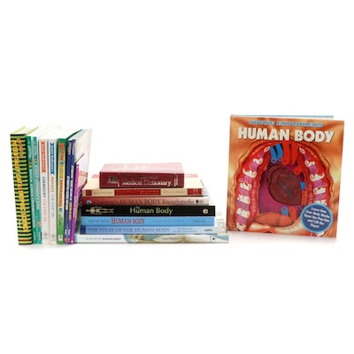 Children's Anatomy and Medical Book Collection