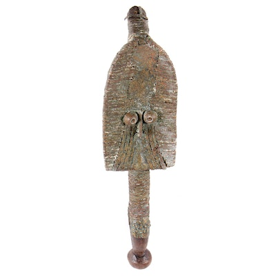 Kota-Mahongwe Style Reliquary Figure, Central Africa