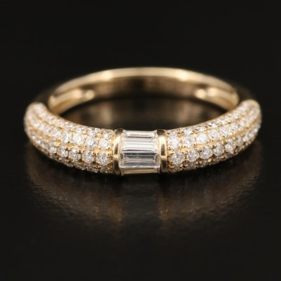 EFFY 14K 0.96 CTW Diamond Band