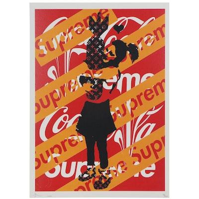 Death NYC Pop Art Offset Print of Bomb Hugger, 2020
