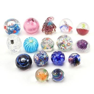 Handblown Art Glass Paperweights