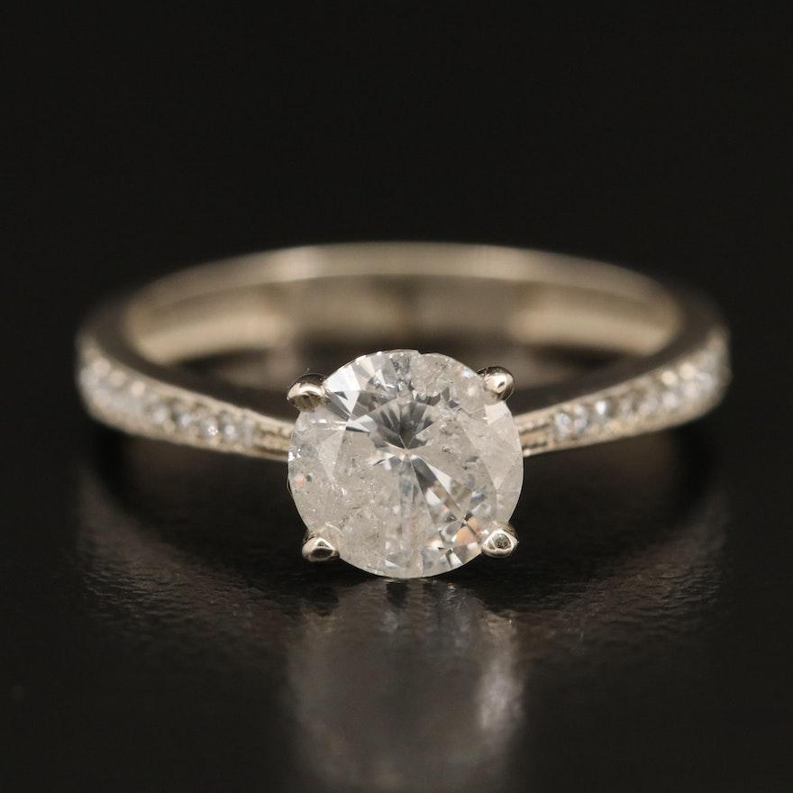 14K 1.28 CTW Diamond Ring