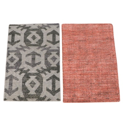 2' x 3' Hand-Knotted Indian Accent Rugs from The Rug Gallery