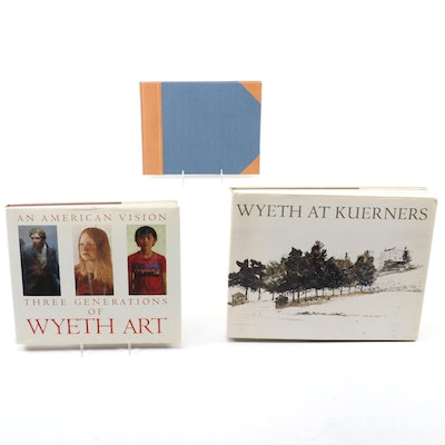 "Signed Limited First Edition ""Jamie Wyeth"" and More Wyeth Art Books"