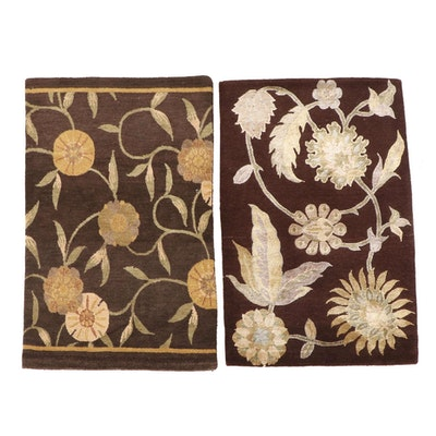 2' x 3'1 Hand-Knotted Nepalese Accent Rugs from The Rug Gallery