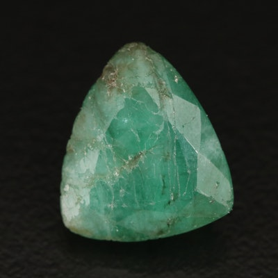 Loose 5.45 CT Trillion Faceted Beryl