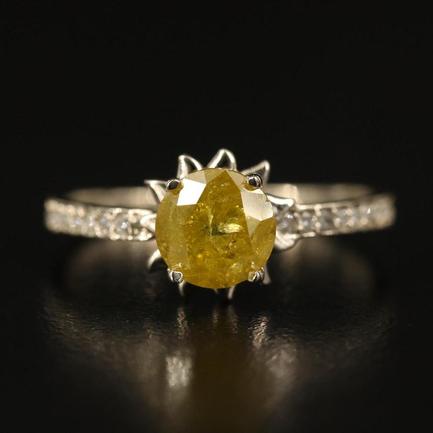14K 1.38 CTW Diamond Ring