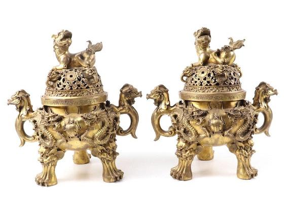 Asian Décor, Kimonos, Art & Jewelry