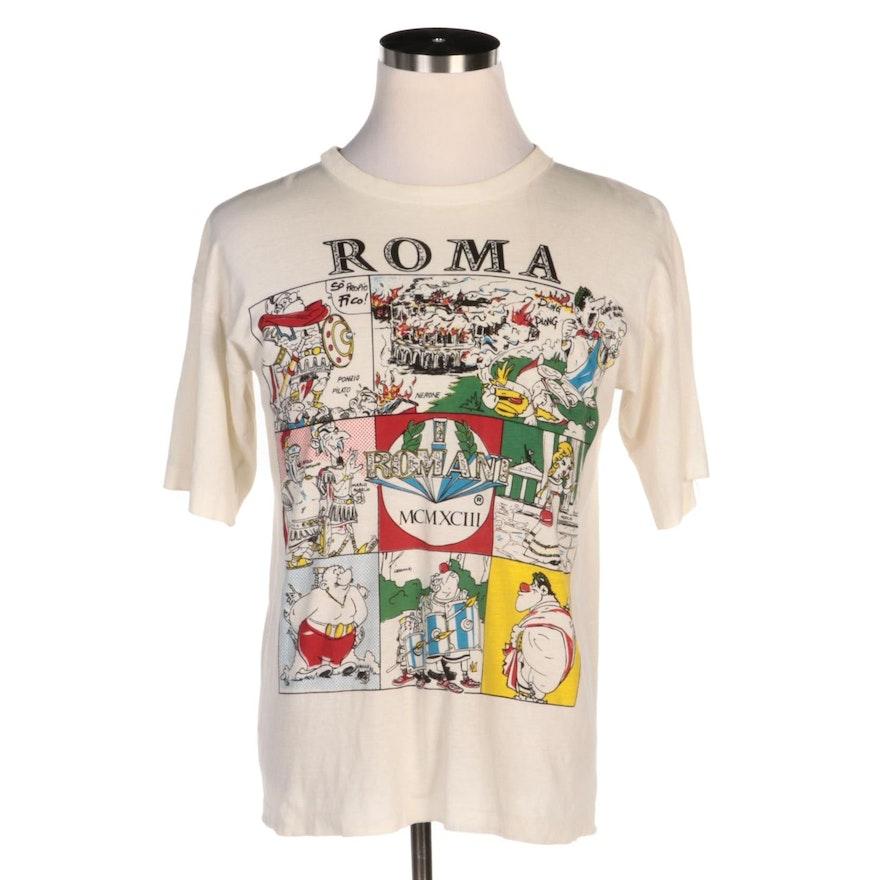 Roma Graphic Comic Short Sleeve Shirt