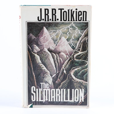 "First American Printing ""The Silmarillion"" by J. R. R. Tolkien, 1977"