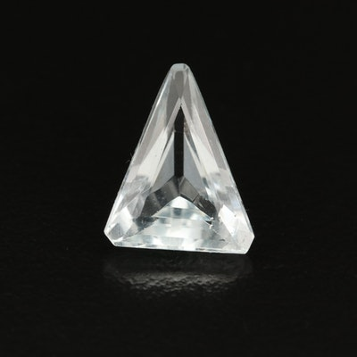 Loose 2.91 CT Modified Triangular Faceted Aquamarine