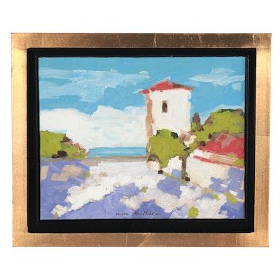Serguei Novitchkov Landscape Oil Painting