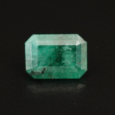 Loose 4.11 CT Cut Cornered Rectangular Faceted Beryl