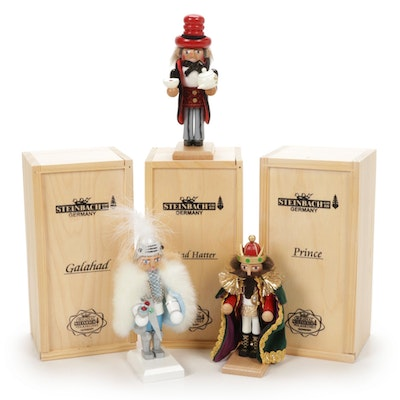 """Steinbach Limited Edition """"Prince"""" and Other Nutcracker Figurines"""