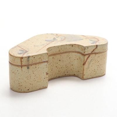 David Petrakovitz Earthenware Art Pottery Trinket Box
