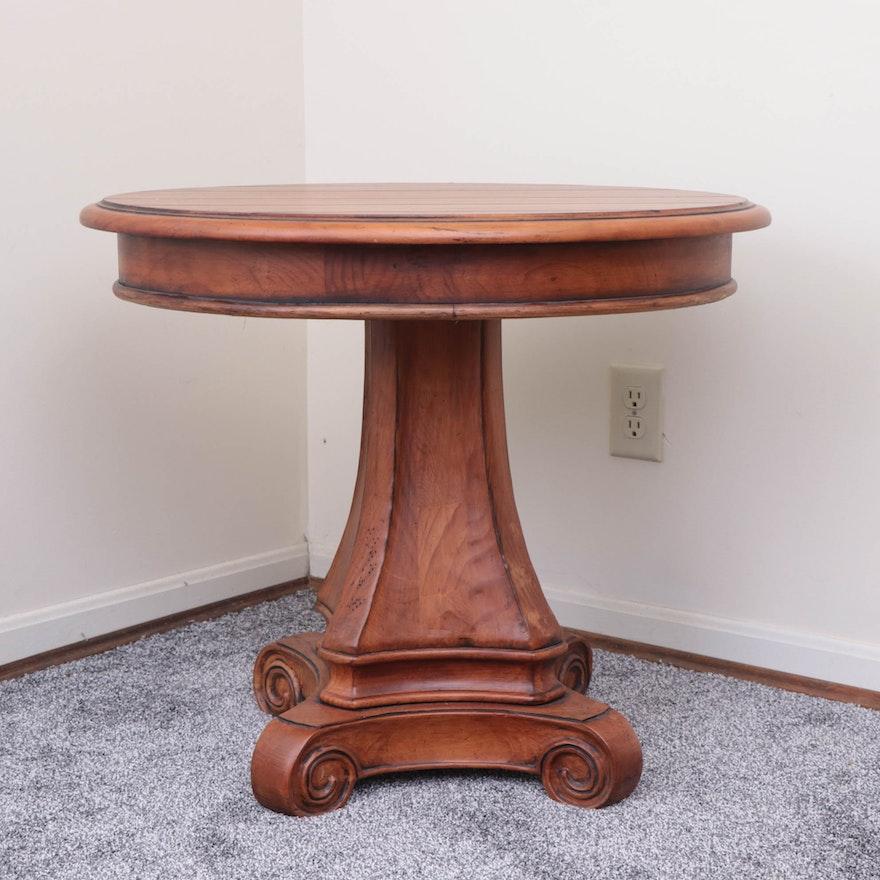 Retreat By Pennsylvania House Pedestal Side Table