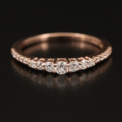 EFFY 14K Diamond Tiered Band
