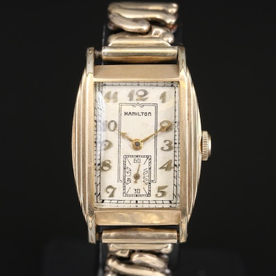 1934 Hamilton Gold Filled Wristwatch