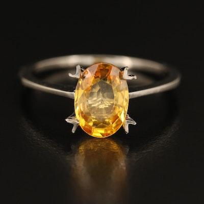 14K 1.66 CT Sapphire Ring
