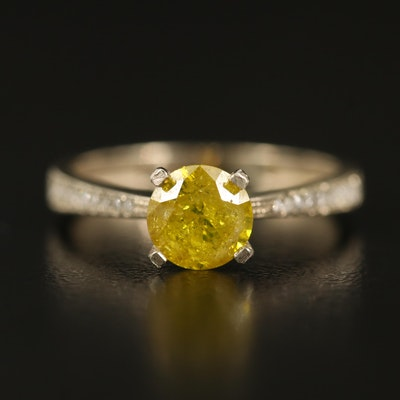 14K 1.29 CTW Diamond Ring