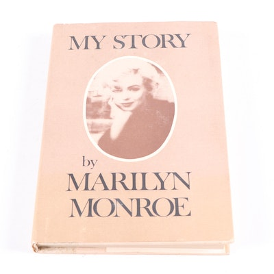 "First Edition ""My Story,"" by Marilyn Monroe, 1974"