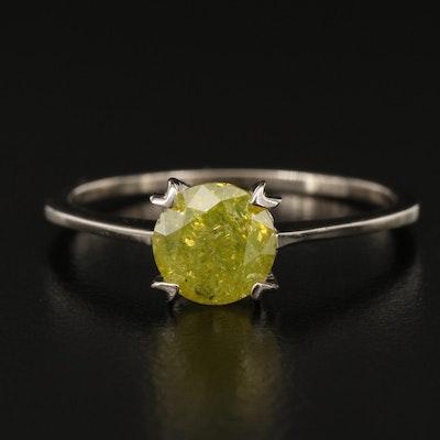 14K 1.07 CT Diamond Solitaire Ring