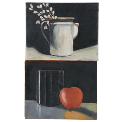 Elaine Neumann Still Life Oil Paintings, 21st Century
