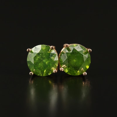 14K 1.56 CTW Diamond Stud Earrings