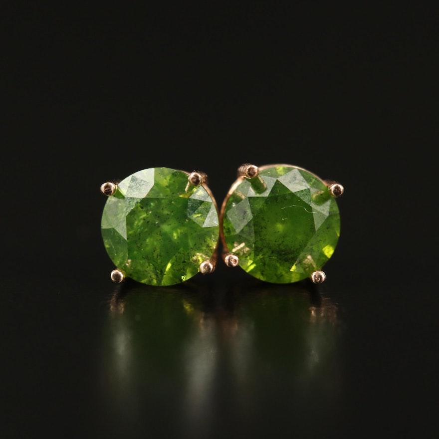 14K 1.56 CTW Diamond Stud Earrings