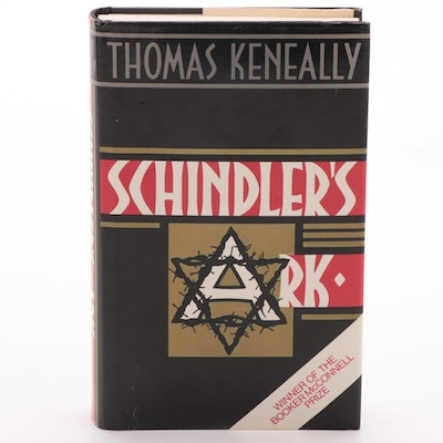 """Second UK Impression """"Schindler's Ark"""" by Thomas Keneally, 1982"""