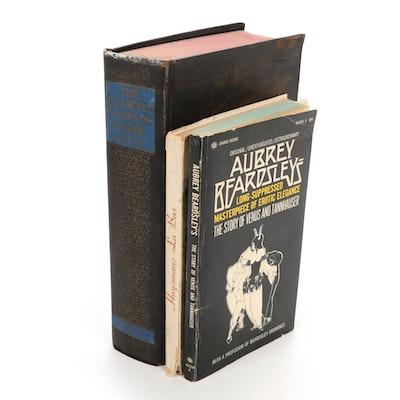 Illustrated Books by Pierre Louÿs, Aubrey Beardsley, and J. K. Huysmans