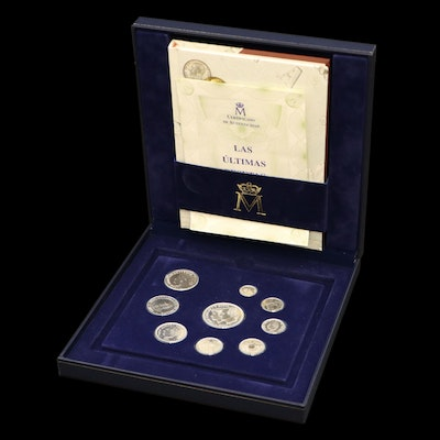 History of the Spanish Peseta .925 Silver Coin Set