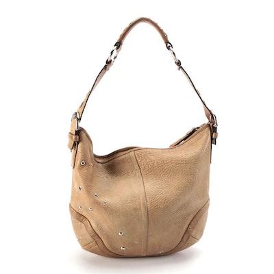 Coach Soho Studded Grommet Leather Hobo Bag
