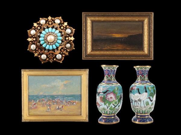 Eclectic Décor, Art, Antique & Vintage Jewelry
