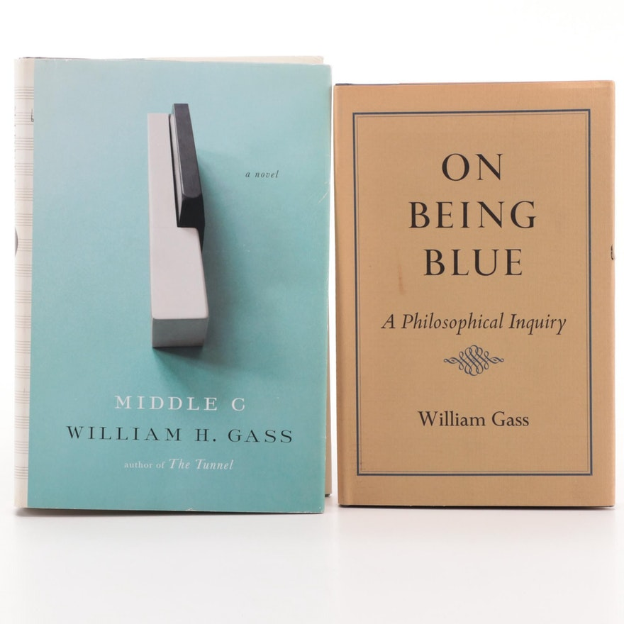 """Signed First Edition """"Middle C"""" by William Gass and More"""